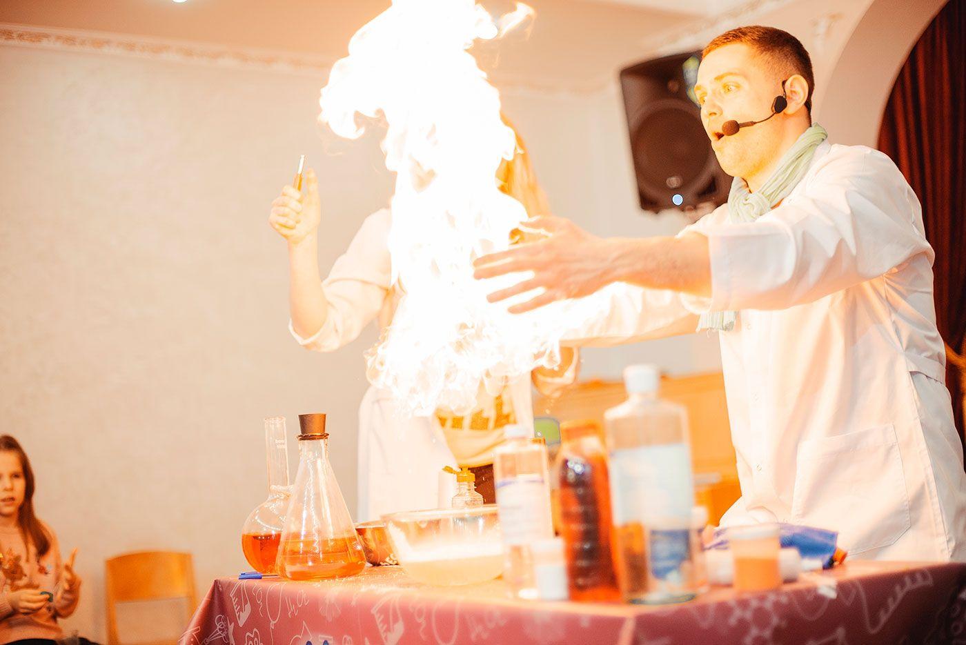 Премьера шоу-программы Химия огня 29 апреля в г. Запорожье